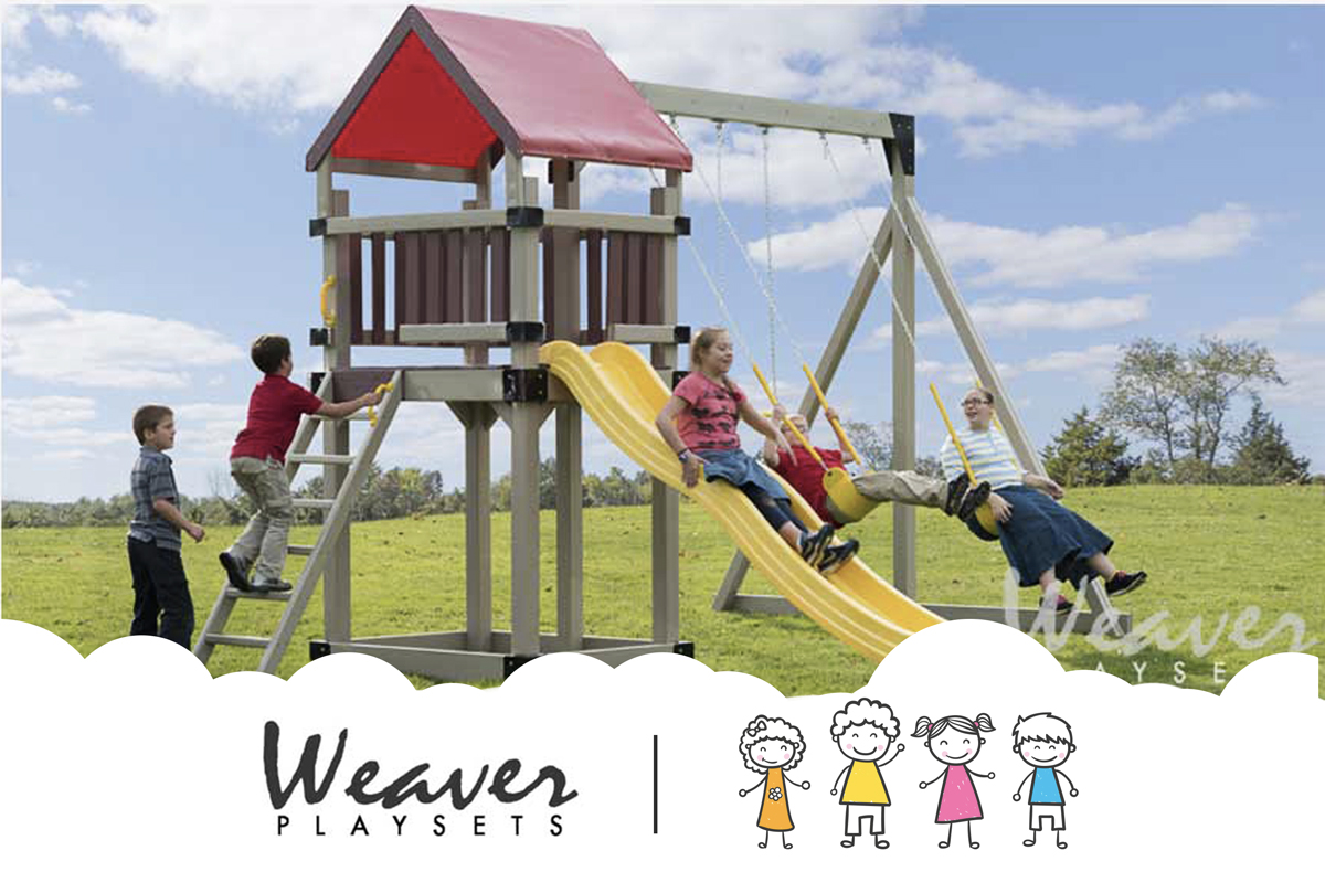 Outdoor Playsets Weaver Vinyl Playsets