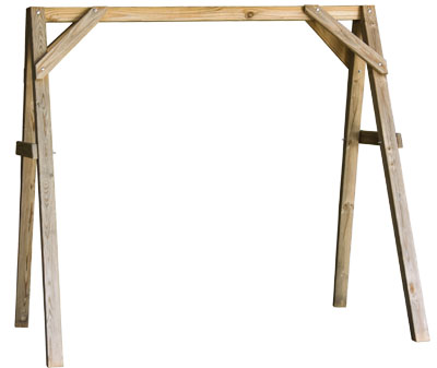 Outdoor :: Wood Furniture :: 6\' Porch Swing A-Frame
