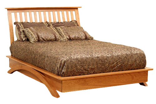 Gateway Plaform Bed - Geitgey's Amish Country Furnishings