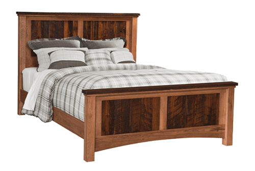 Lewiston Panel Bed - Geitgey's Amish Country Furnishings