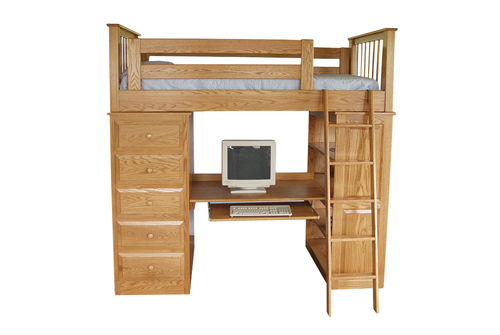 Loft Bed - Geitgey's Amish Country Furnishings