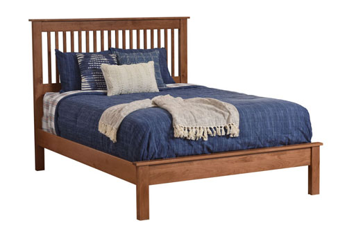 Millcraft Williamsport Slat Bed - Geitgey's Amish Country Furnishings