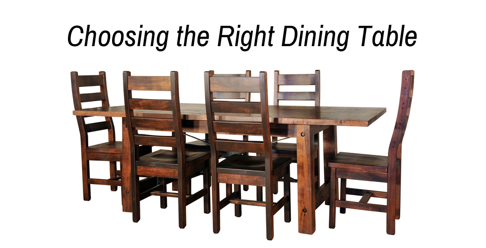 Dining Table - Header - Geitgey's Amish Country Furnishings