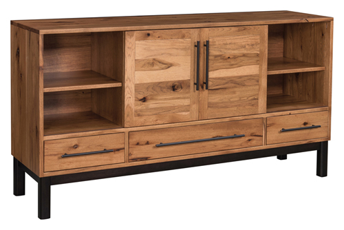Amish Hardwood Furniture - Cooper TV Stand - Geitgey's Amish Country Furnishings
