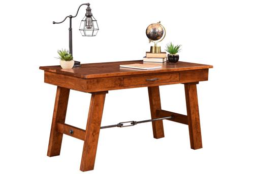 Amish Hardwood Furniture - Hawthorne Desk - Geitgey's Amish Country Furnishings