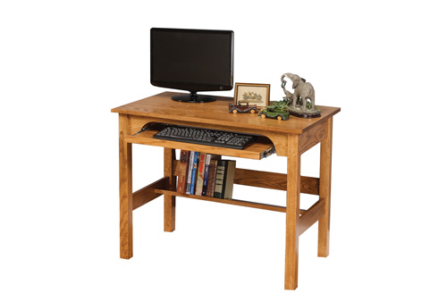 Clark Computer Desk - Geitgey's Amish Country Furnishings