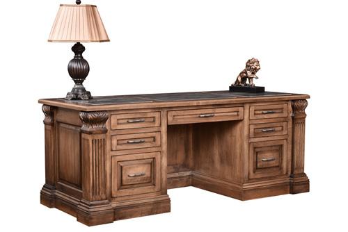 Montereau Executive Desk - Geitgey's Amish Country Furnishings