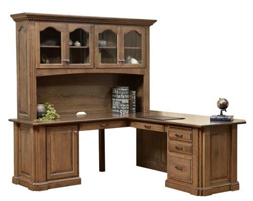 Signature Corner Desk - Geitgey's Amish Country Furnishings
