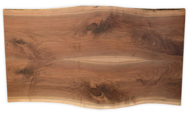 Live Edge - Book Matching - Geitgey's Amish Country Furnishings
