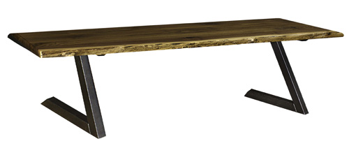 Live Edge Bench - Geitgey's Amish Country Furnishings