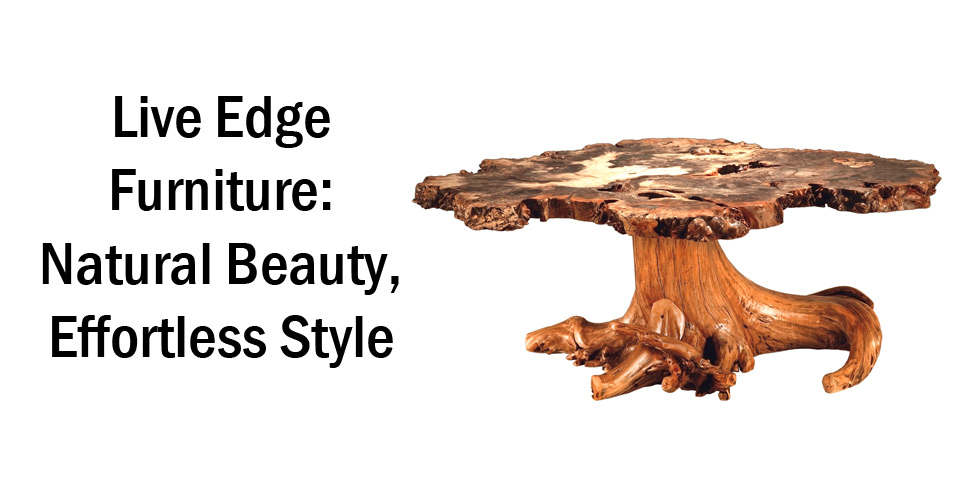 Live Edge Furniture - Header - Geitgey's Amish Country Furnishings