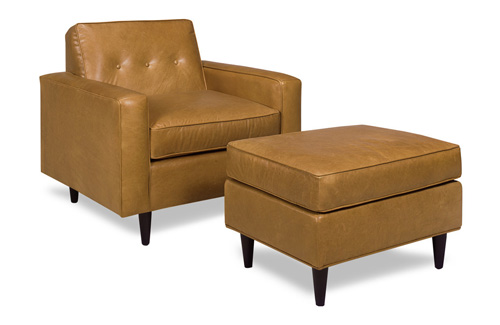 McKinley 4221 Chair and 4220 Ottoman - Geitgey's Amish Country Furnishings
