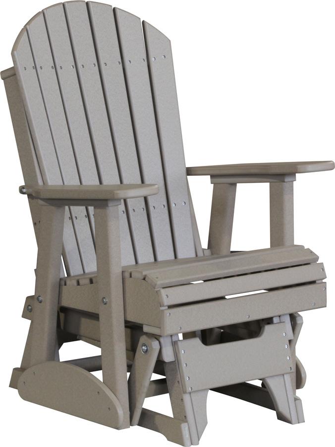 2 Adirondack Glider Chair