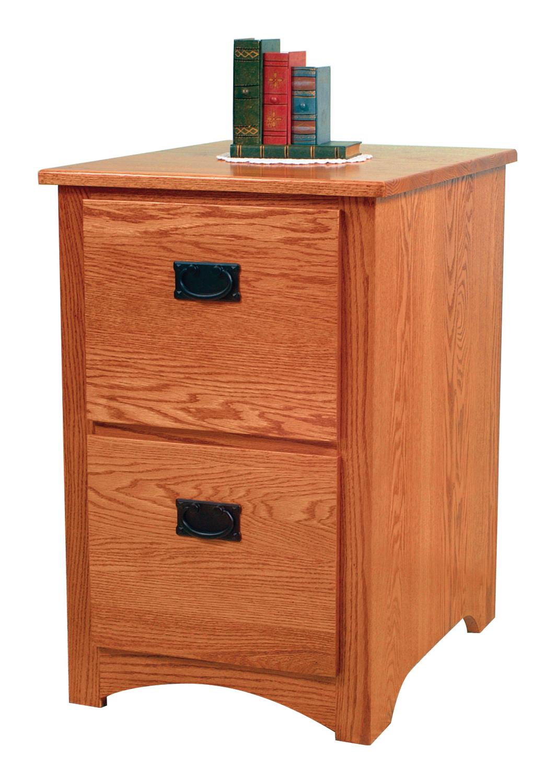 Mission 2 Drawer File Cabinet
