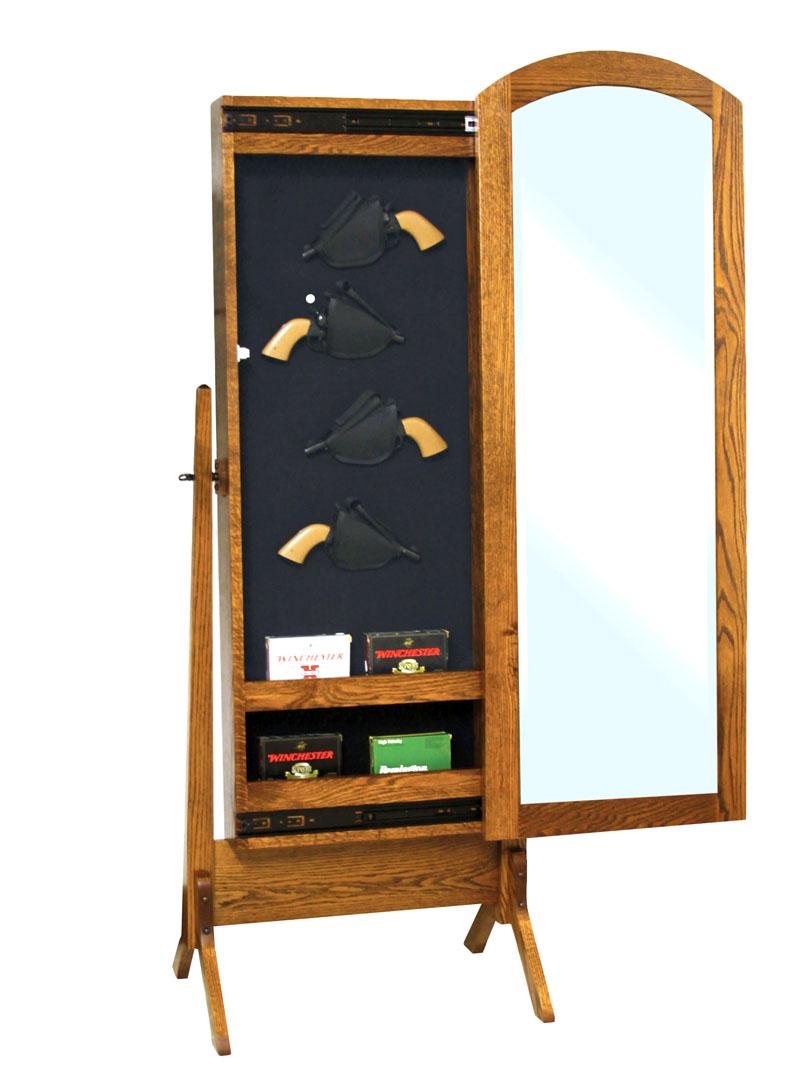 Wondrous Antique Shaker Gun Cabinet Cheval Mirror Download Free Architecture Designs Scobabritishbridgeorg