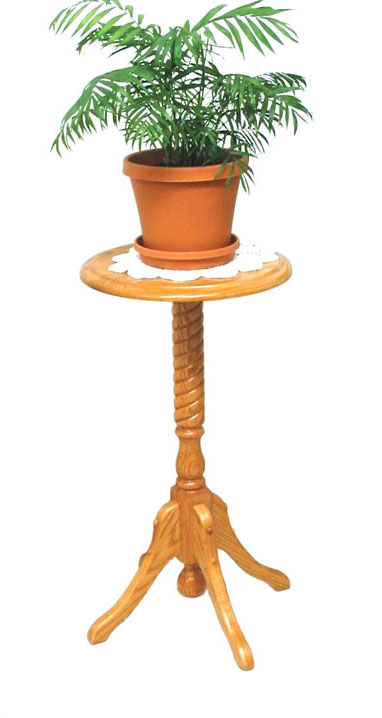 30 Rope Twist Plant Stand