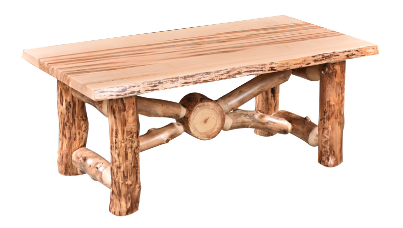 Strange Aspen Wormy Maple Coffee Table Evergreenethics Interior Chair Design Evergreenethicsorg