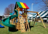 Backyard Creations Wood Playsets