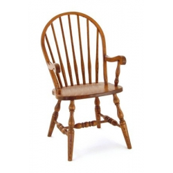 7 Spindle Arm Chair - Plain Leg