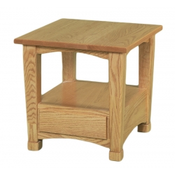 Granville Shaker Solid Top End Table
