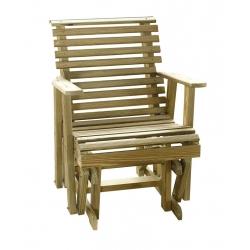 2' Plain Glider Chair
