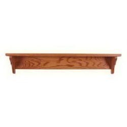 Oak Shelf - Straight Back