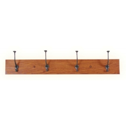 Oak Mission Coat Hangers