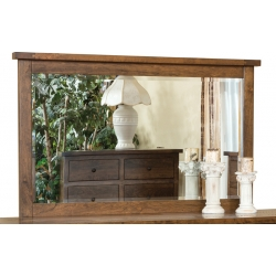 Timber Mill Beveled Landscape Mirror