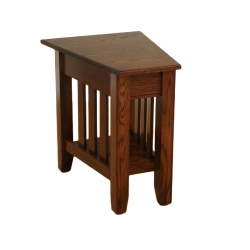 Mission Wedge End Table