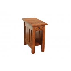 "Canted Mission 13"" End Table"