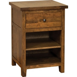 Timber Mill 1 Drawer Nightstand