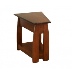 Sonoma Wedge End Table