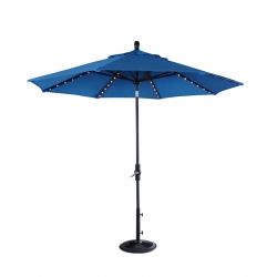 9' Starlight Collar Tilt Umbrella