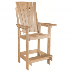 Cypress Euro Bar Chair