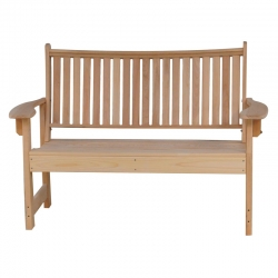 Cypress 4' Royal Garden Bench