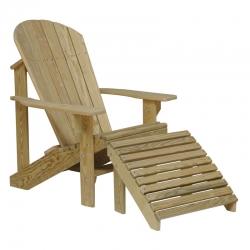 Treated Pine Adirondack Chair