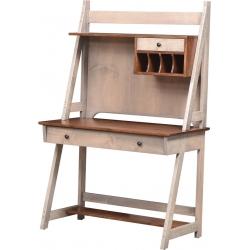 Timberline Laptop Desk & Hutch