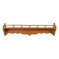 Curve Back Rail Shelf