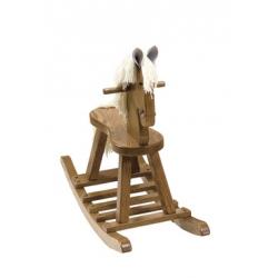 Rocking Horse W/ Flat Seat