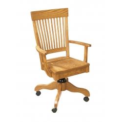 Superior Mission Desk Arm Chair