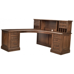 Angelo Desk and Hutch