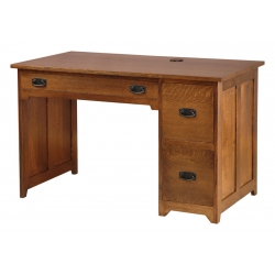 Allison Single Pedestal Desk