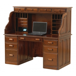 Computer Deluxe Rolltop Desk