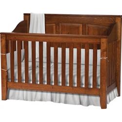 Jackson Crib - Panel Back