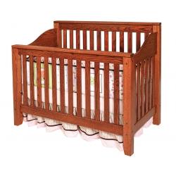 Jackson Crib - Slat Back