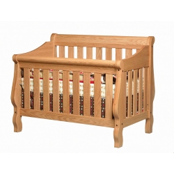 Heirloom Crib - Slat Back