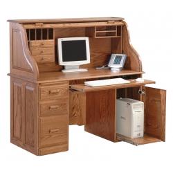 """Computer 54"""" Rolltop Desk"""