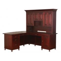 """Henry Stephen's """"L"""" Corner Desk"""