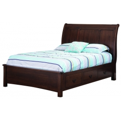 Hyde Park Bed w/ Low Footboard