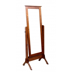 Traditional Shaker Cheval Mirror